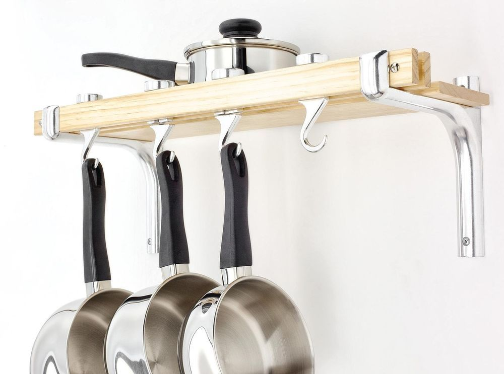 Rack Hanging Rail For Saucepan Pot Pan