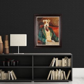 Na Avery Tillman Edgar Allen Paw Framed Art Painting Frames Painting Prints Framed Art