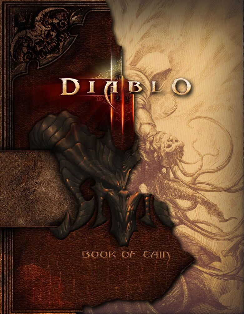 Diablo III: Book of Cain is a master piece for all Diablo's fans. Here renowned scholar Deckard Cain has combined excerpts, illustrations, and firsthand knowledge to pen a history of the world of Sanctuary --- Now available for $21.34 -> http://amzn.to/HytwUI