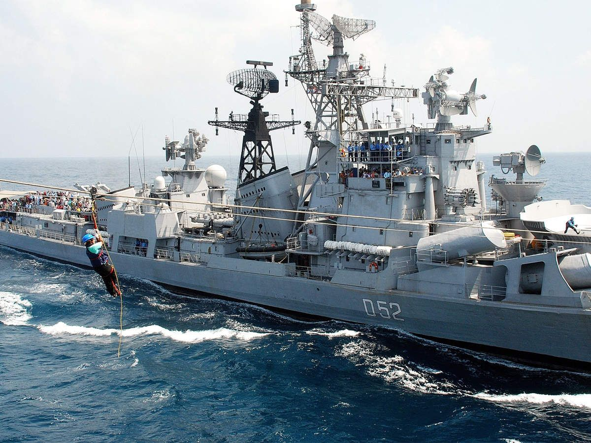 Lpd Ship Uss Anchorage Arrives In Vizag Japan In September Naval Chief Of Naval Operations