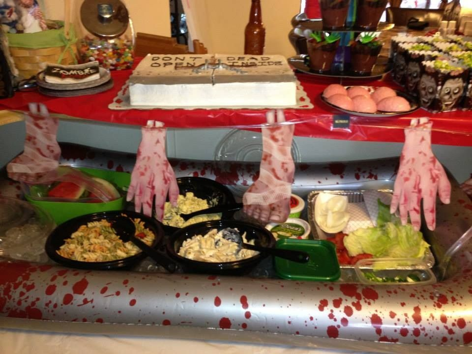 the walking dead party food