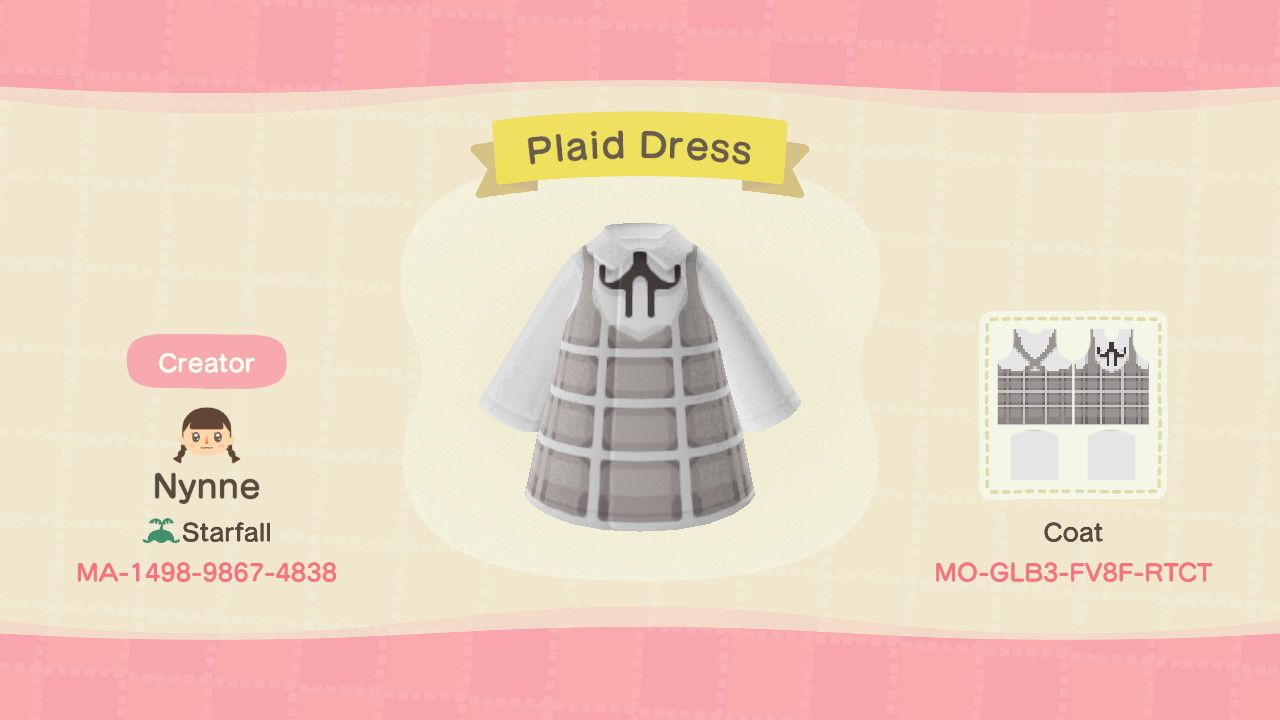 15++ Animal crossing clothing patterns images
