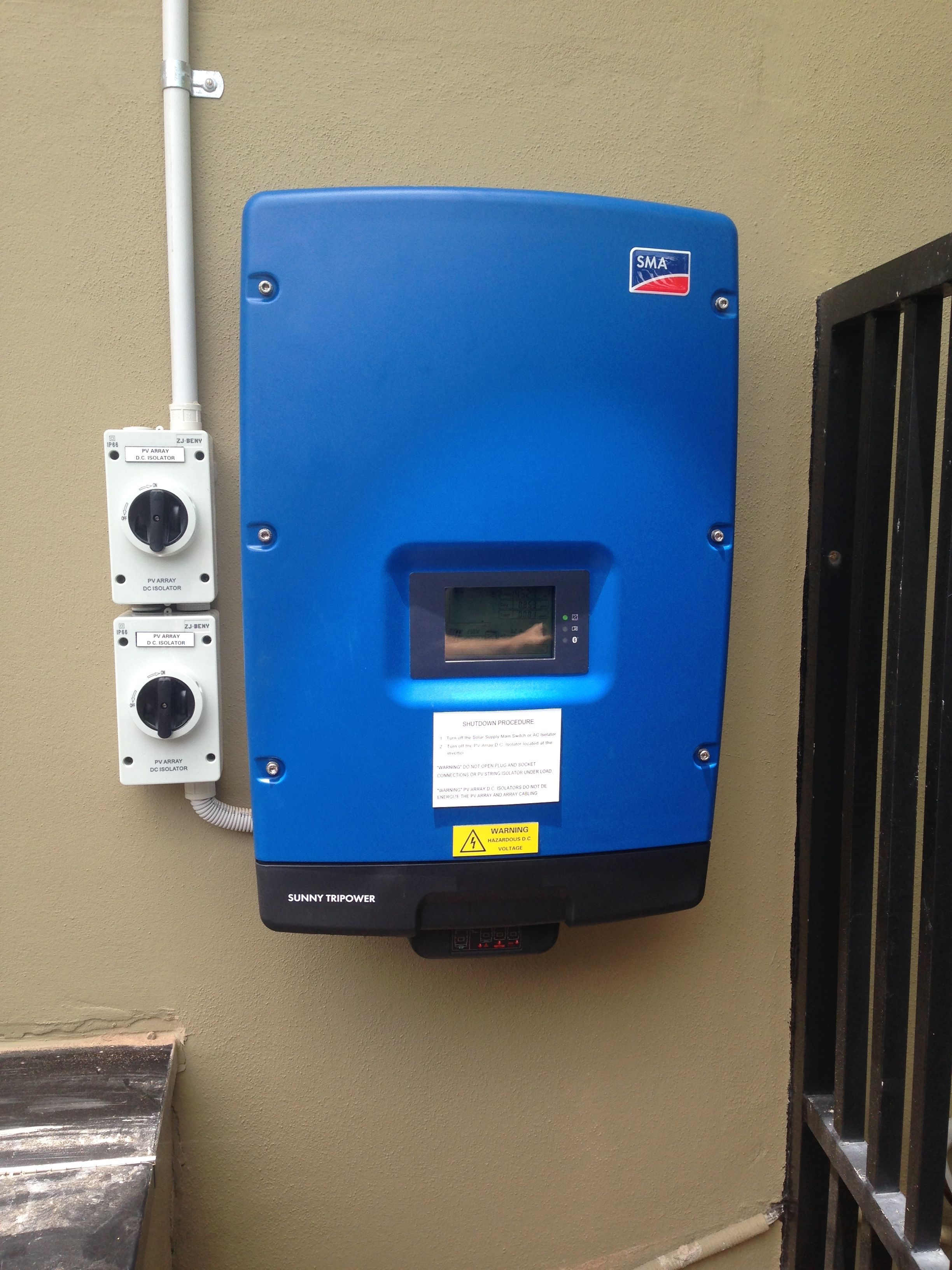 Tri Power 5kW SMA Sunny inverter for 3 phase application | Solar PV