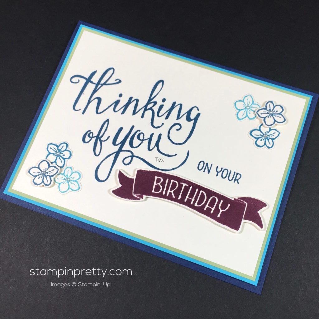 Time of year birthday card idea friendship cards card ideas and