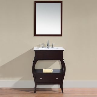 Virtu Hilary 26 Inch Single Sink Bathroom Vanity Overstock