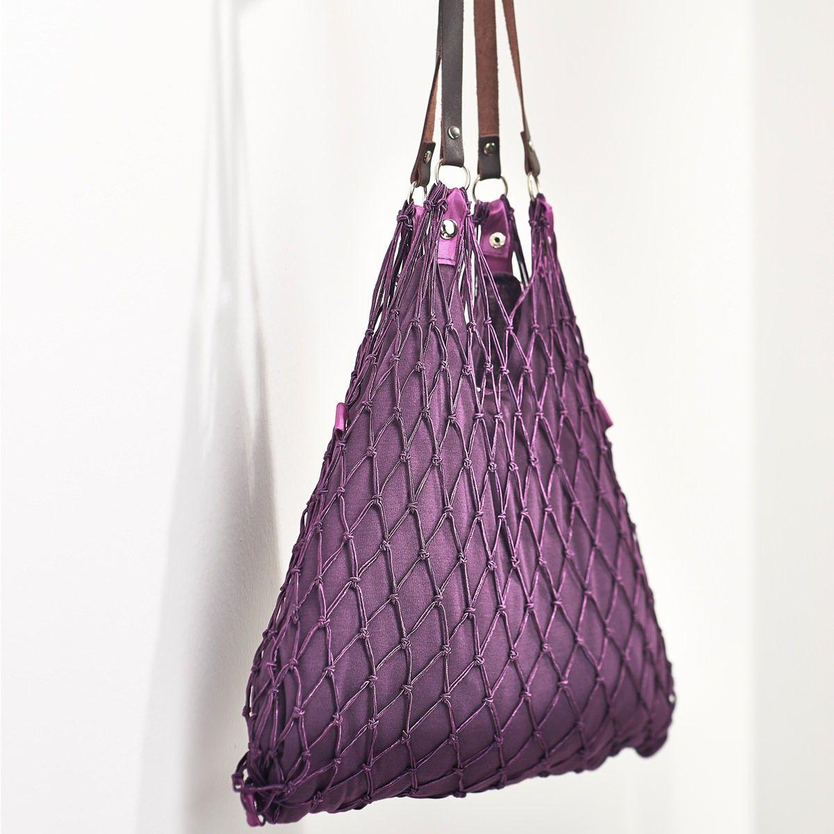 CEDON Einkaufsnetz Kulturbeutel de Luxe violett | Einkaufsnetz ...