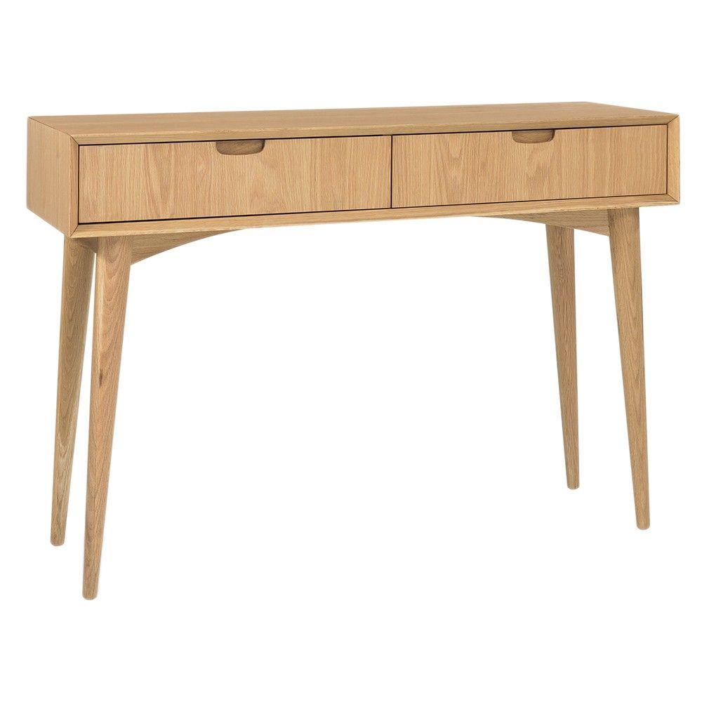 stockholm console table oak stockholm console table homewares online furniture