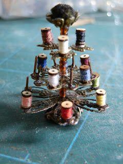 Minhas Minis - My Minis: Linhas & Fitas... - Threads & Ribbons