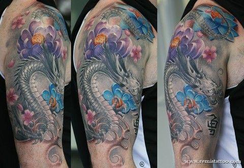 Bad ass dragon tattoos — photo 3