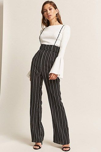 4cc3a5ee297 Striped Suspender Pants. Striped Suspender Pants