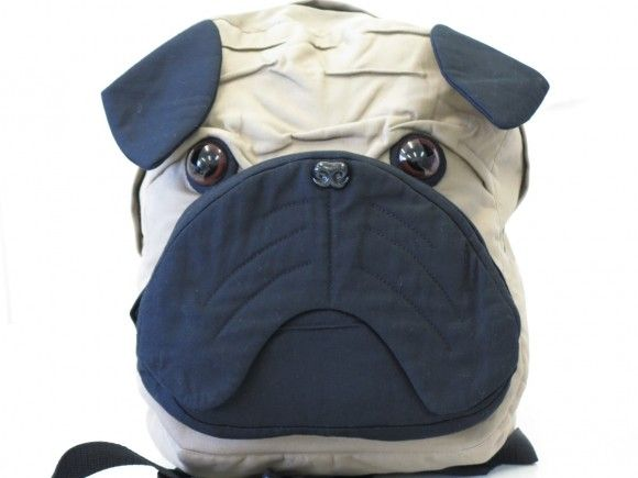feature friday: pug dog backpack | Pinterest | Mops, Hunde und Nähen
