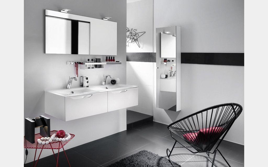 Meuble de sallle de bains double vasque Arty Delpha Ambiances