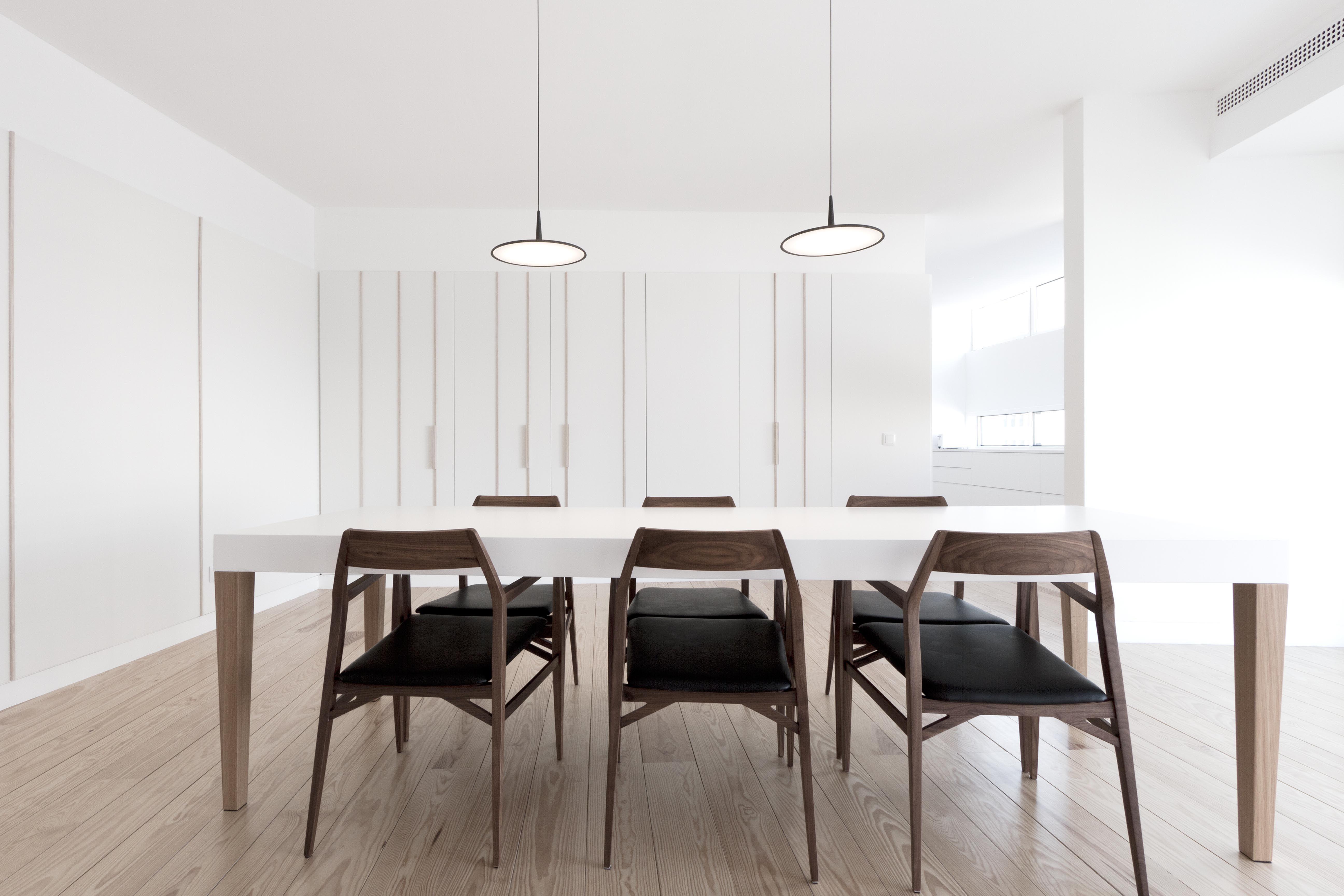 appartamento roma Dining table design, Contemporary home