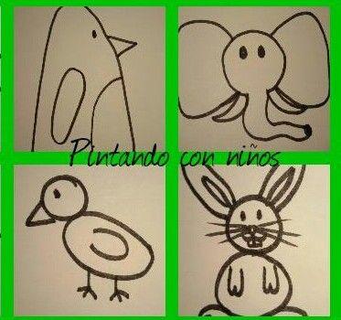 Best 25 animales faciles de dibujar ideas on pinterest for Silla facil de dibujar