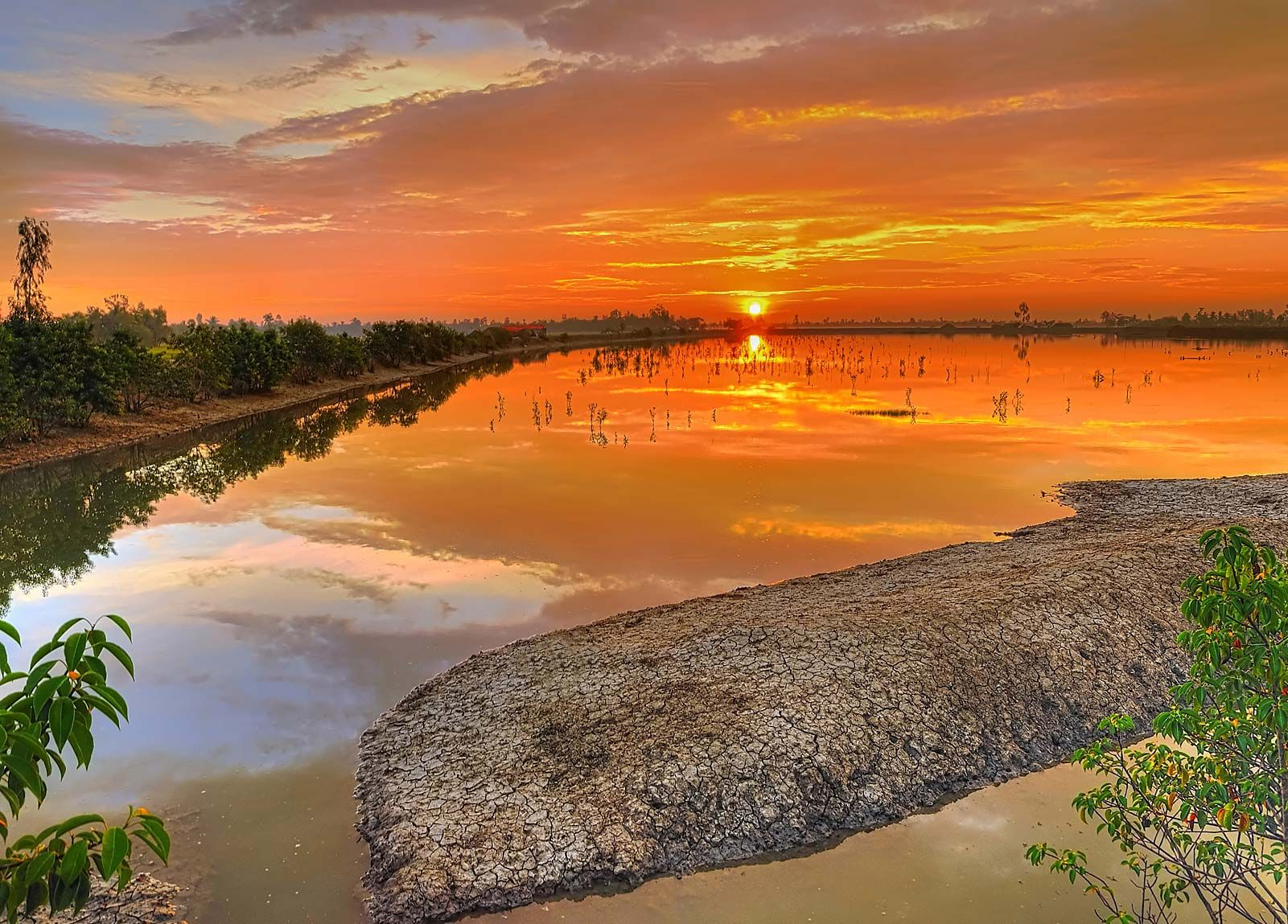 The Sundarbans is a natural region in the Bengal region