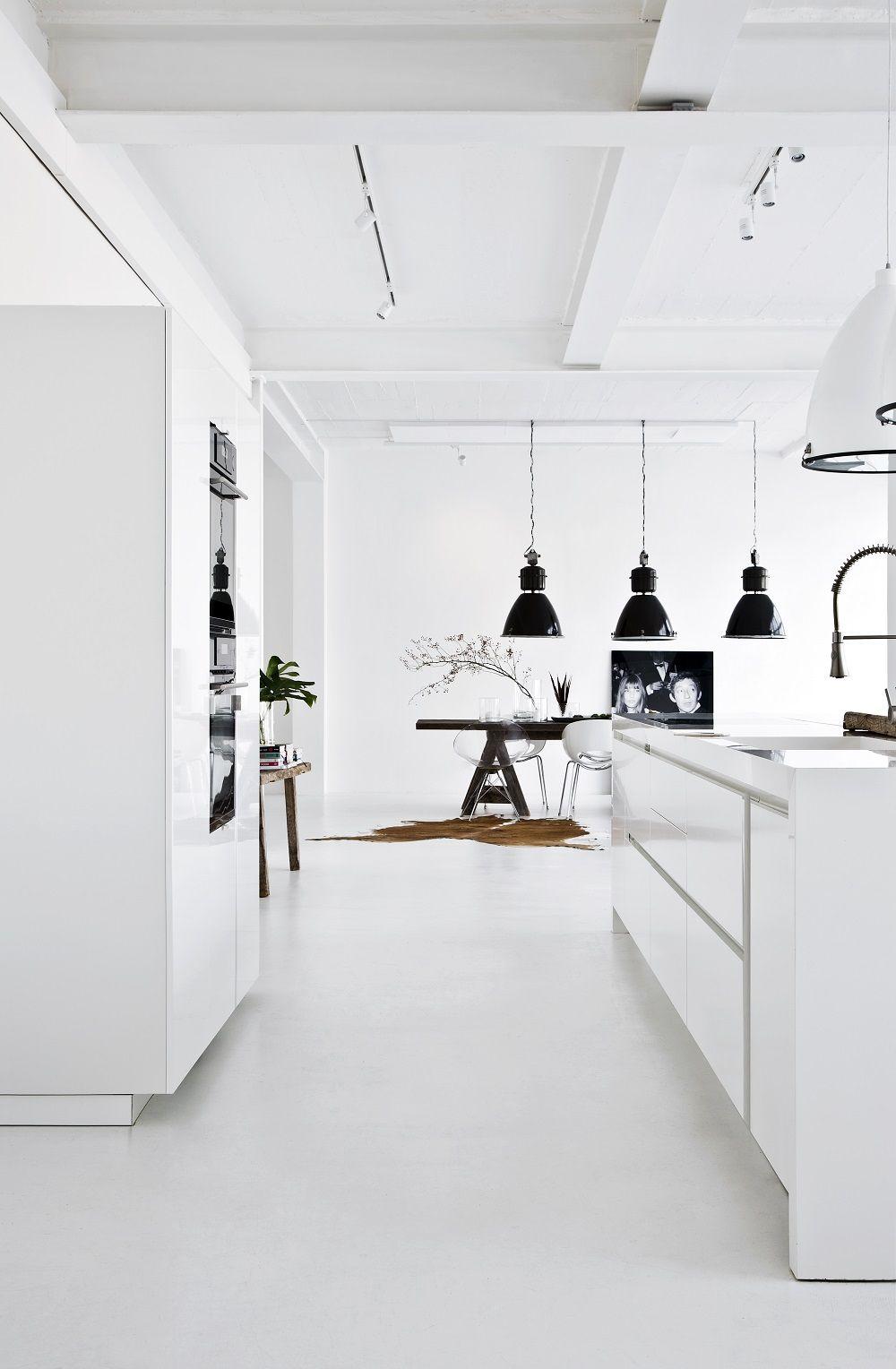 Küchenideen offen joanna machte ihr ding u bei der renovierung ihres lofts und beim