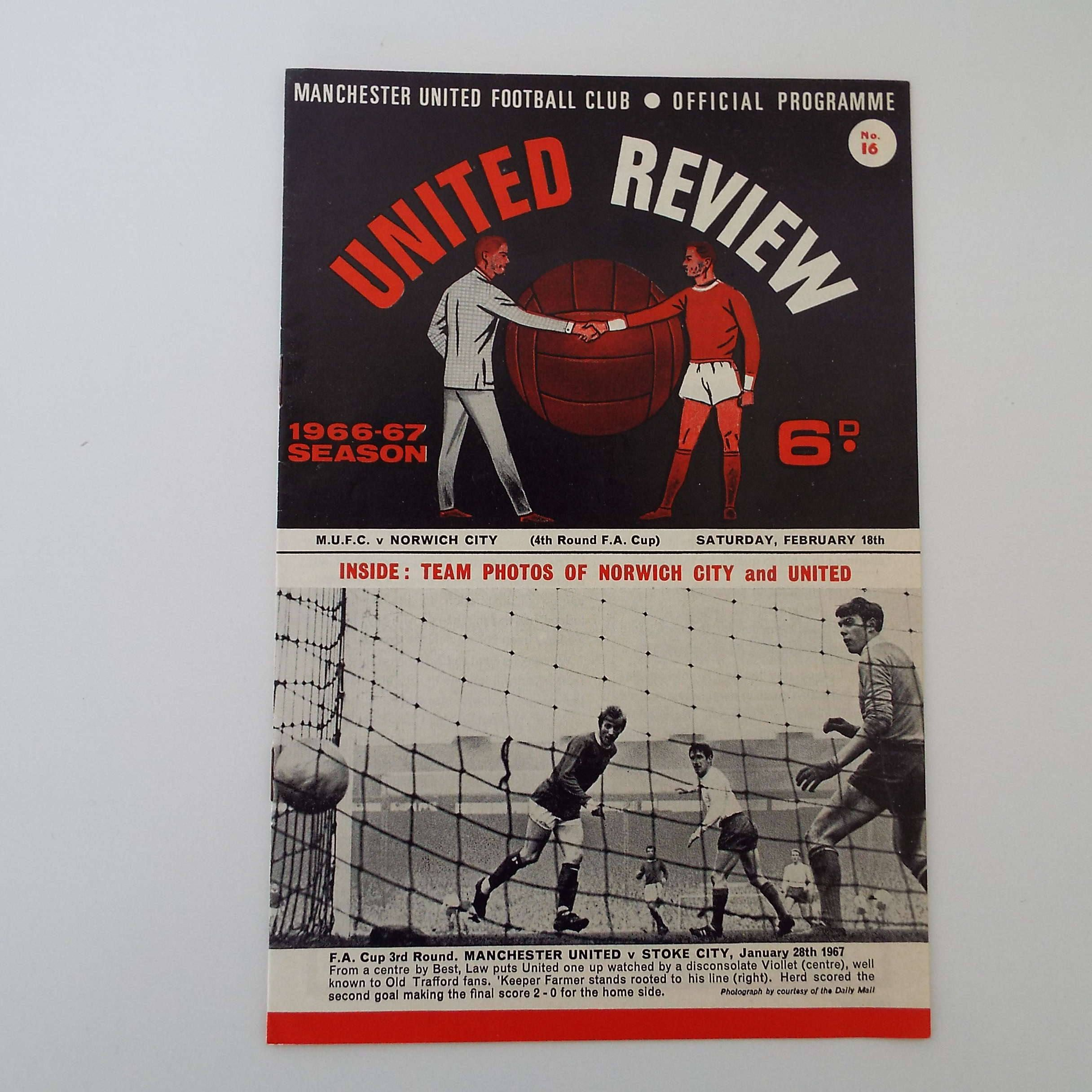 Vintage 1967 Manchester United Versus Norwich City Football Etsy Norwich City Football Manchester United Manchester United Football