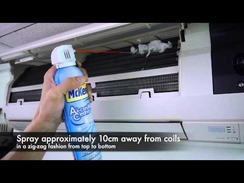 Mr Mckenic Ac1926 Air Conditioner Cleaner Self Rinsing Youtube