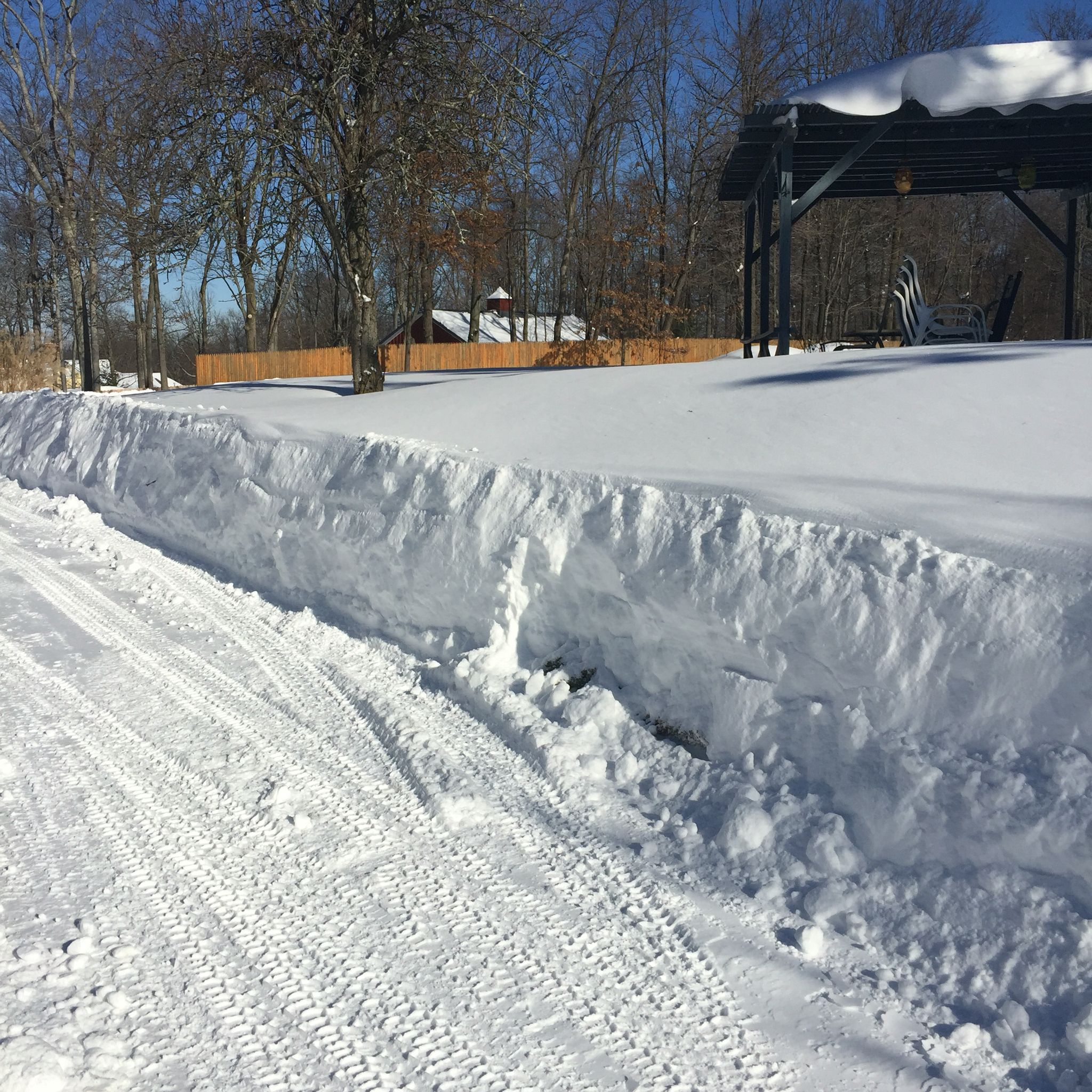 How much more snow could possibly come down?