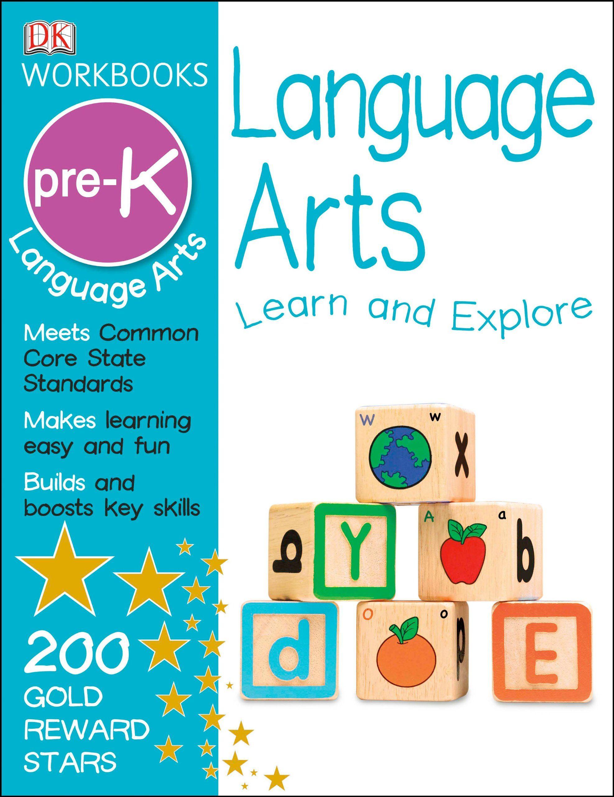 DK Workbooks: Language Arts, Pre-K Price:$6.99 | childhood book ...