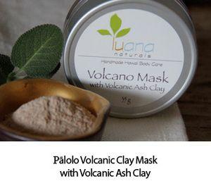Volcanic Ash Clay Mask Handmade in Hawaii
