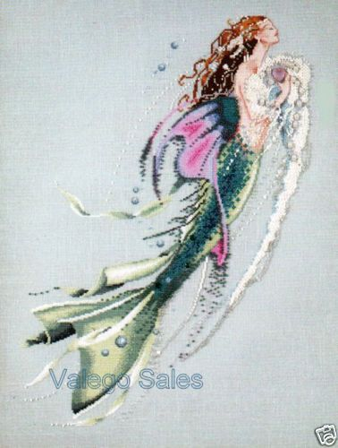 Mirabilia-Nora-Corbett-Cross-Stitch-Chart-MERMAID-OF-THE-PEARLS-26-Sale