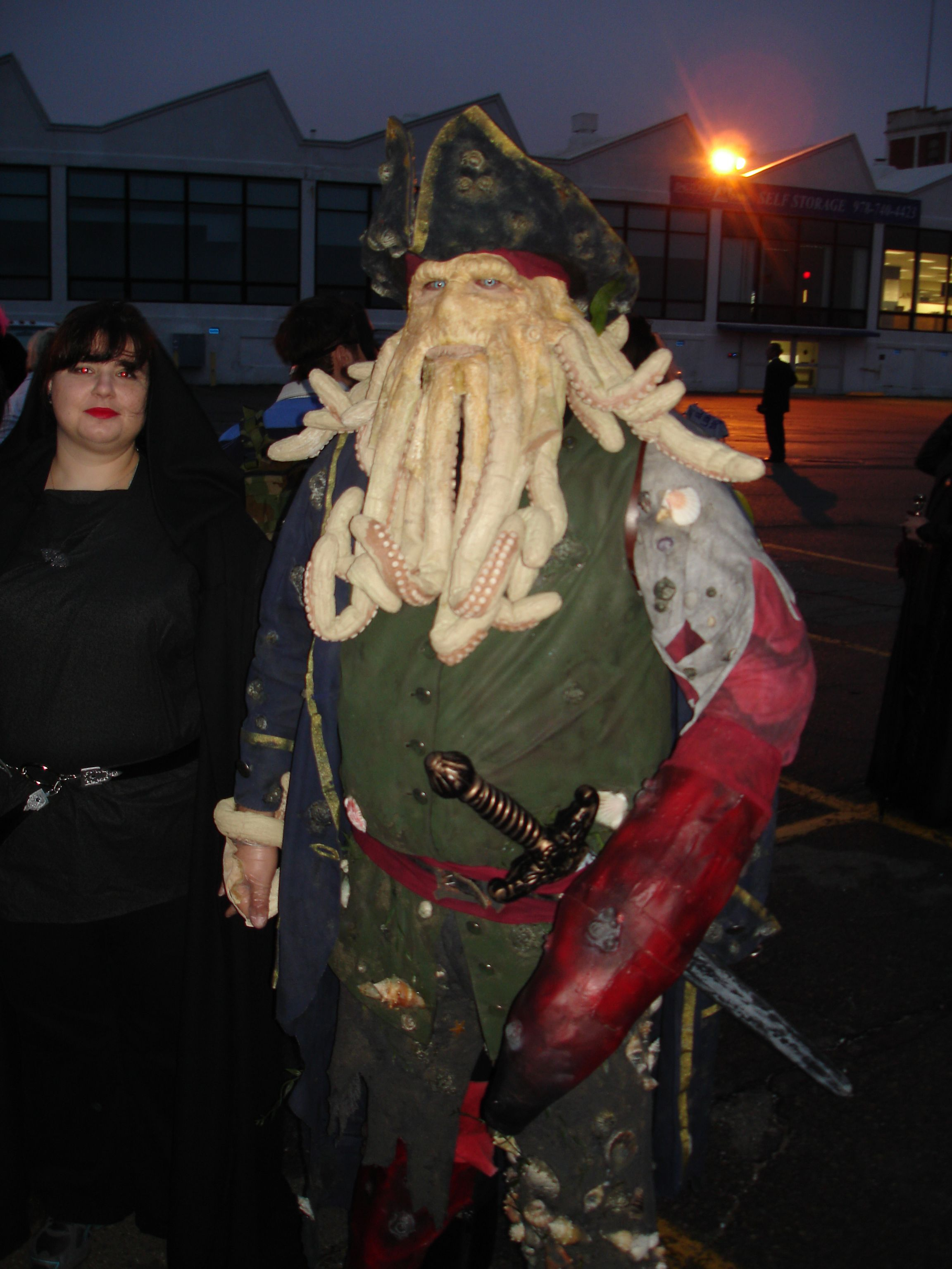 Amazing Davy Jones costume. | Halloween Costumes Salem | Pinterest ...