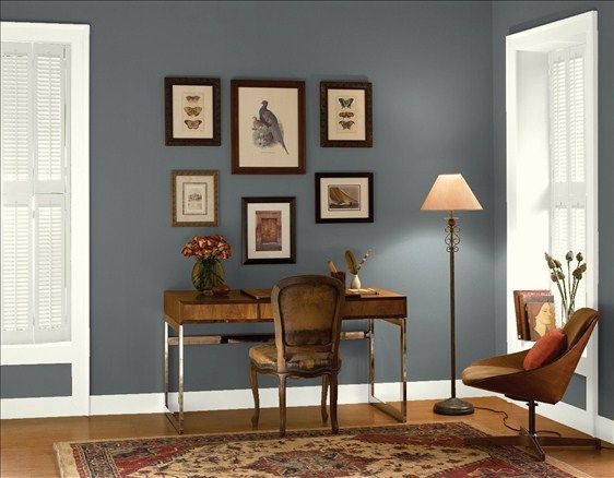 bracken slate home office colors living room color on modern office paint schemes id=30252
