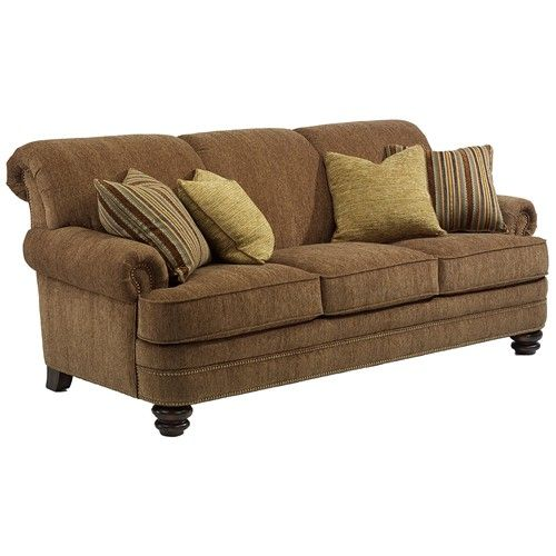 Flexsteel Bay Bridge Traditional Rolled Back Sofa at Sheely's Furniture & Appliance SKU 7791-31