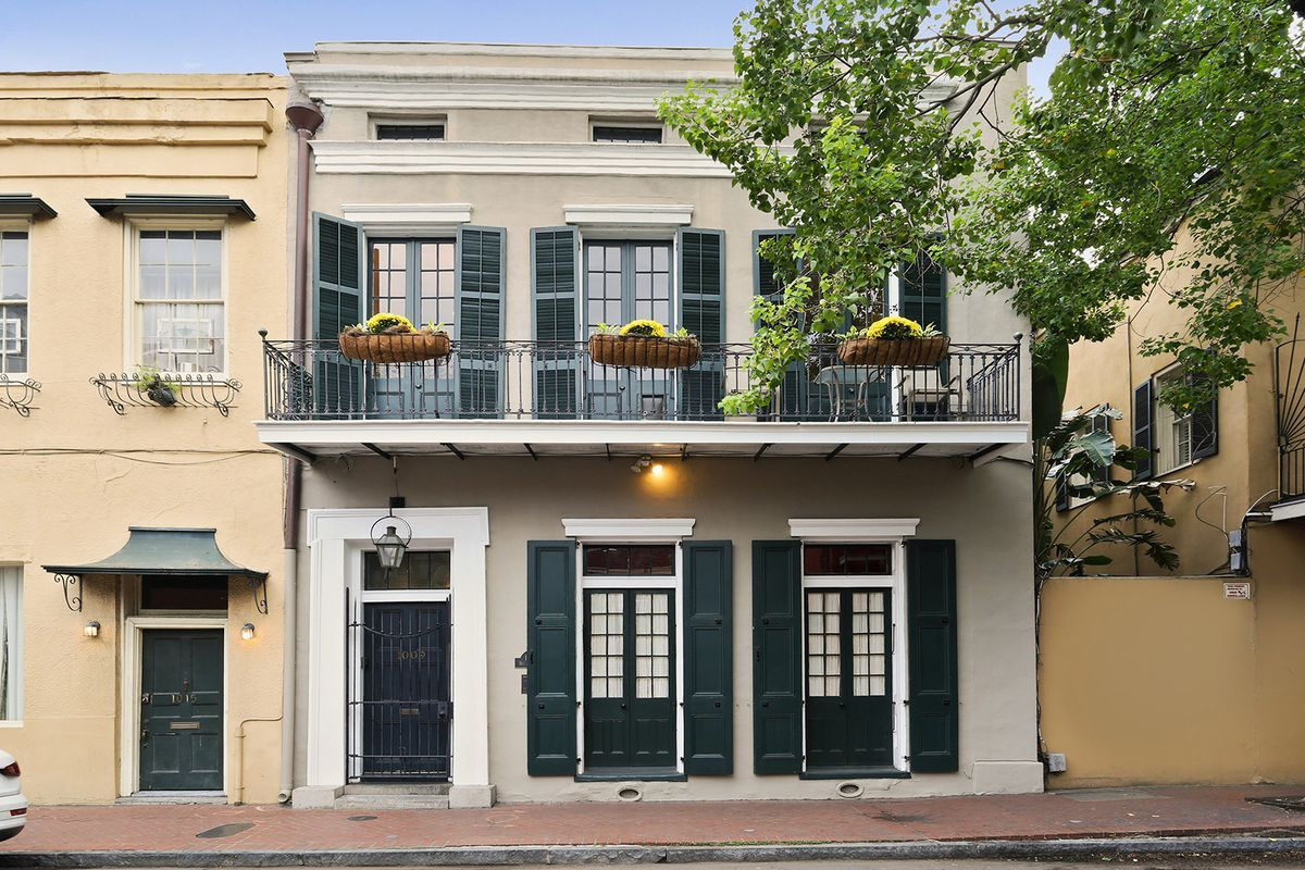 19thcentury townhouse in the french quarter with private