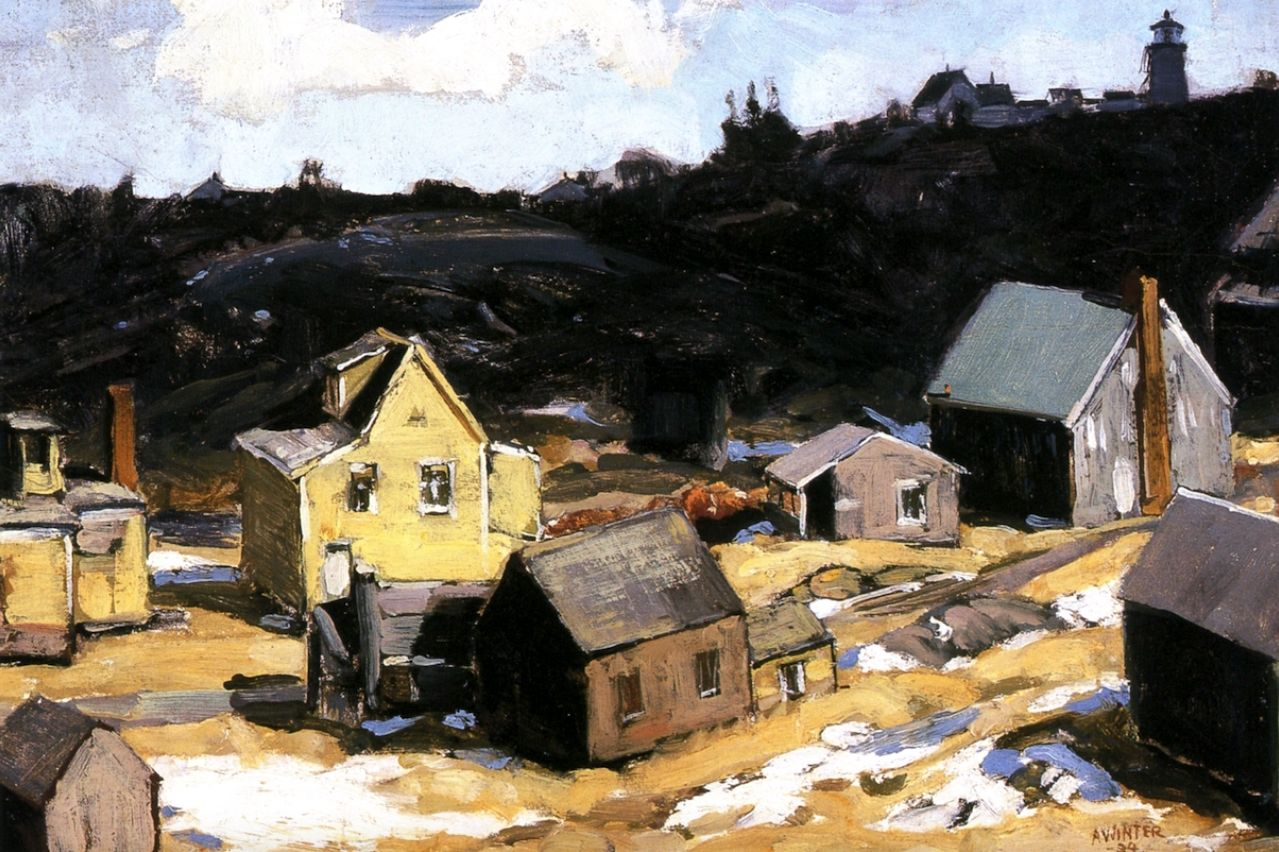 Monhegan ThawAndrew Winter - 1924