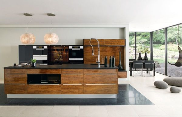 50 Modern Kitchen Designs Inspiration Wooden kitchen Modern