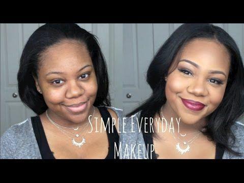 Simple Everyday Makeup Routine For Brown Dark Skin Beginner