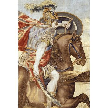 Tapestry - Perseus and Andromeda; The Horses https://hemmahoshilde.wordpress.com/2016/02/10/great-horses-lost-and-found/