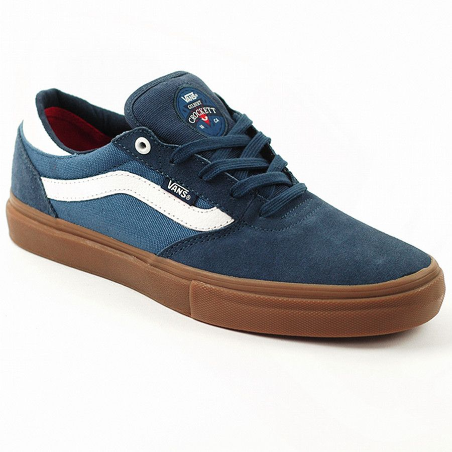 750385ea5ae2 Vans Gilbert Crockett Pro Blue-White gum