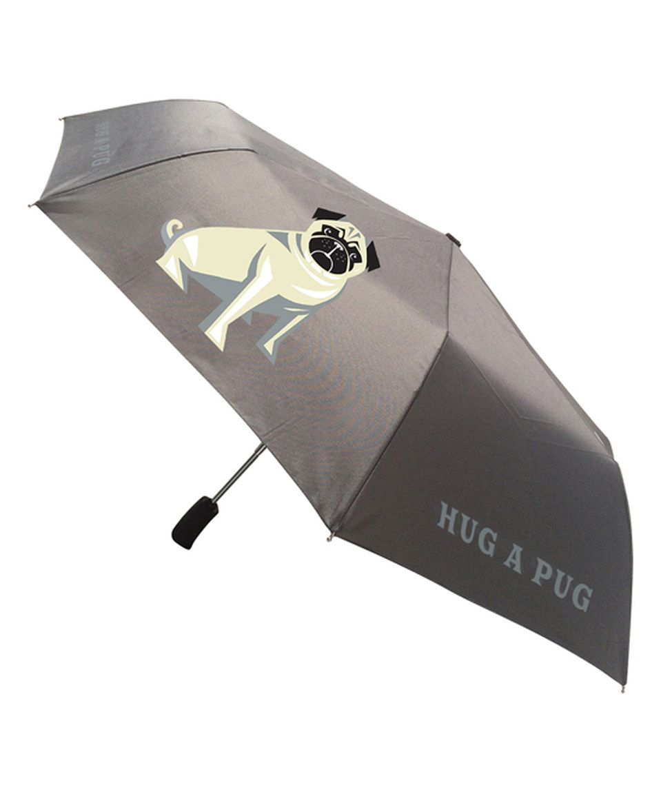 Love this 'Hug a Pug' Umbrella by NAKED DECOR on #zulily! #zulilyfinds