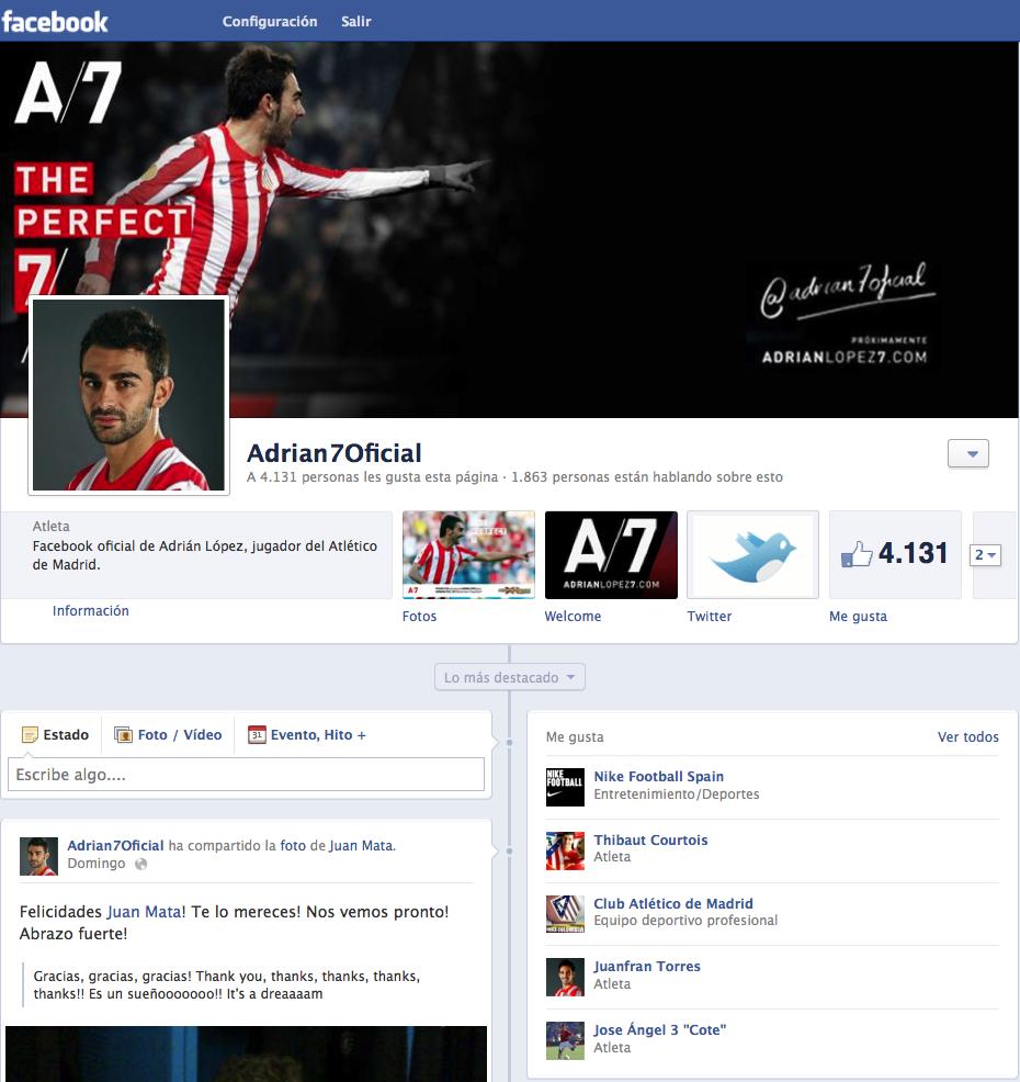 Haz click en la imagen para acceder a mi cuenta oficial de Facebook. Espero que os guste ;)