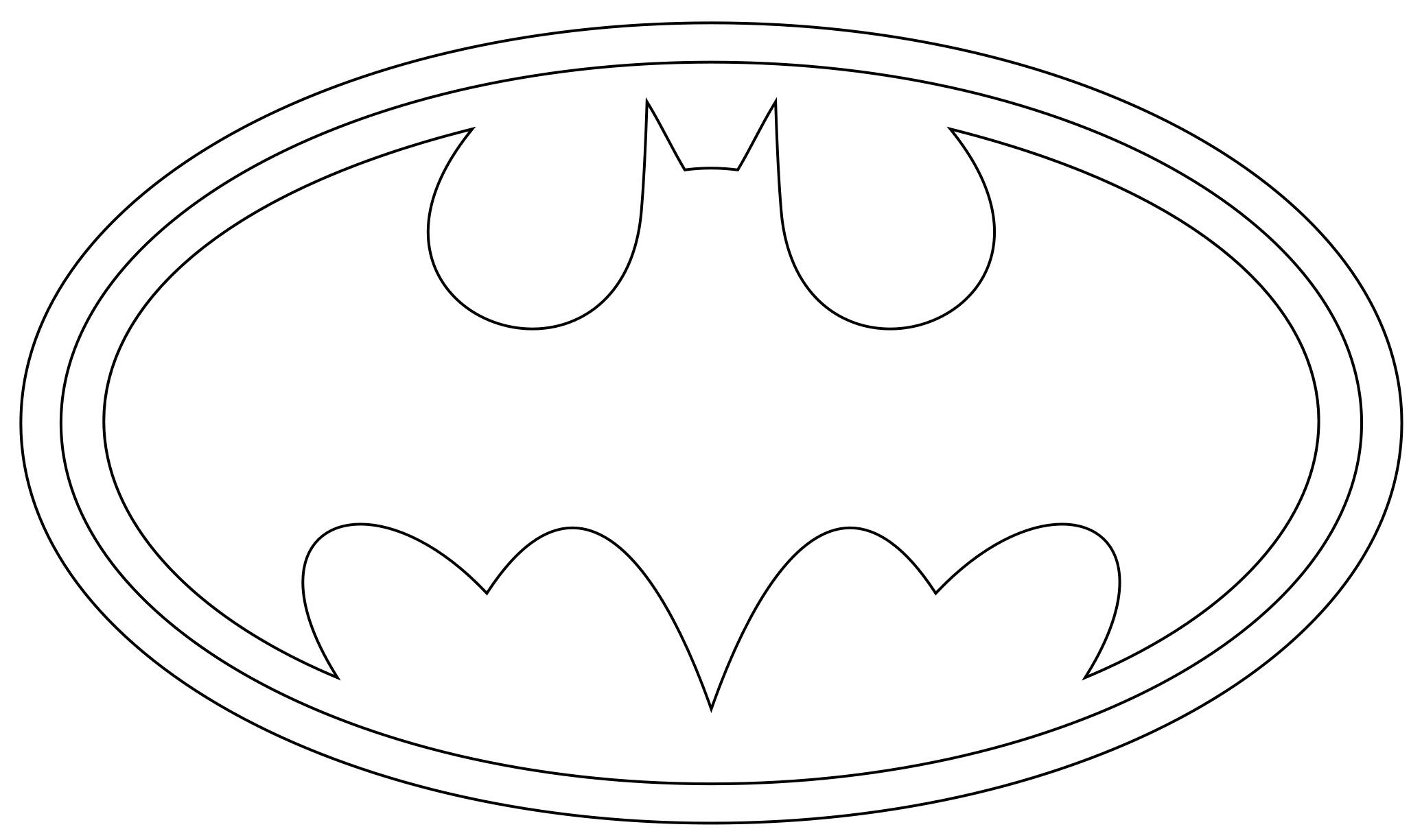 batman logo coloring pages Batman Free Printable | batman logo coloring pages printables 2  batman logo coloring pages