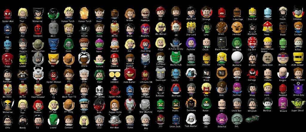 lego superheroes | Lego Marvel Super Heroes Unlockable Characters ...