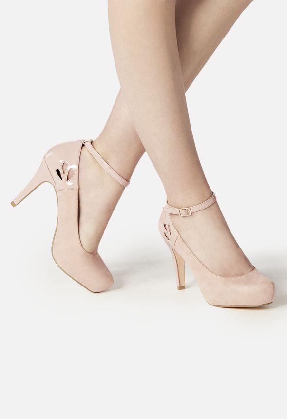 5f033c4703d8 Chaussures Grazia Pump en Nude - Livraison gratuite sur JustFab ...