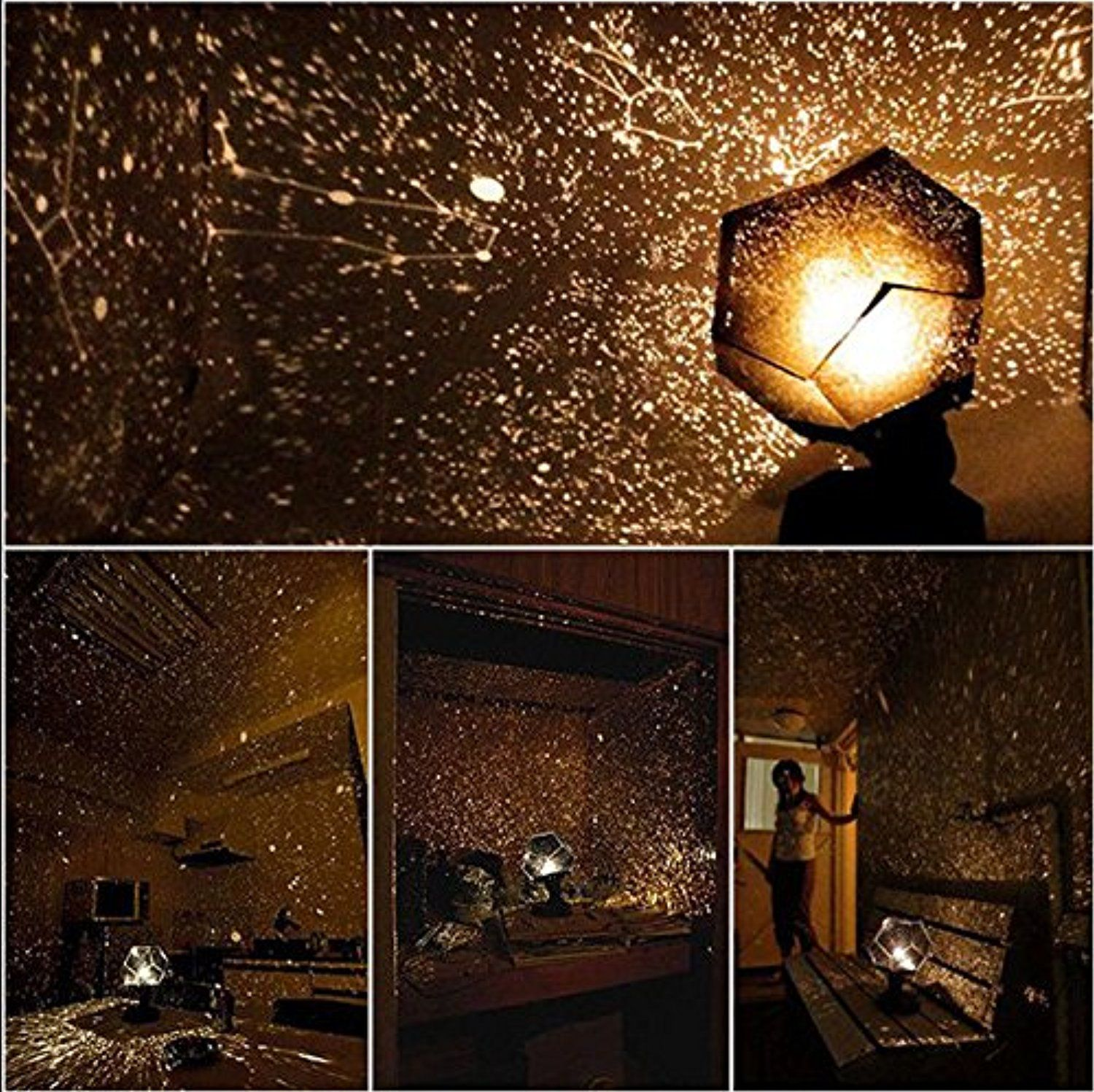 Four seasons star projector lamp - Four Seasons Star Celestial Star Projector Lamp Light New Funny Diy Good Gift Nc In Home Garden Lamps Lighting Ceiling Fans Night Lights