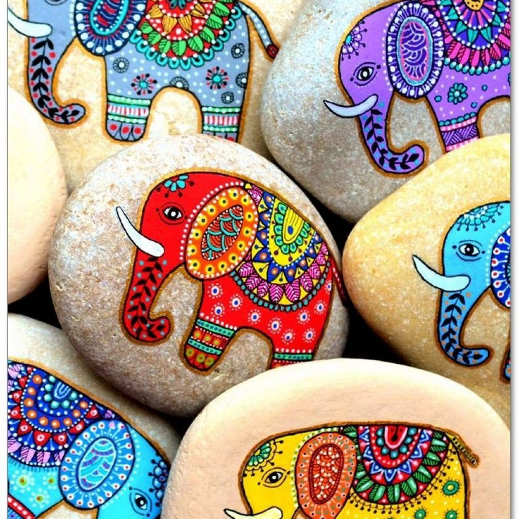 100+ DIY Ideas Of Painted Rocks With Inspirational Picture and Words #painting