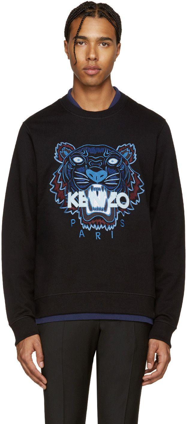 KENZO Black Tiger Pullover.  kenzo  cloth  pullover   Kenzo Men ... 8029c47d17b