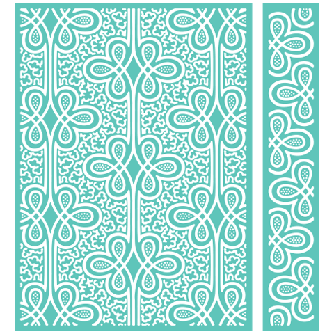 Image result for anna griffin cuttlebug embossing folders regal braid