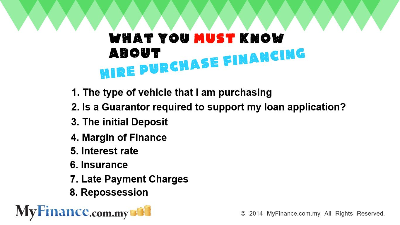 The Required Documents To Support Your Hire Purchase Financing