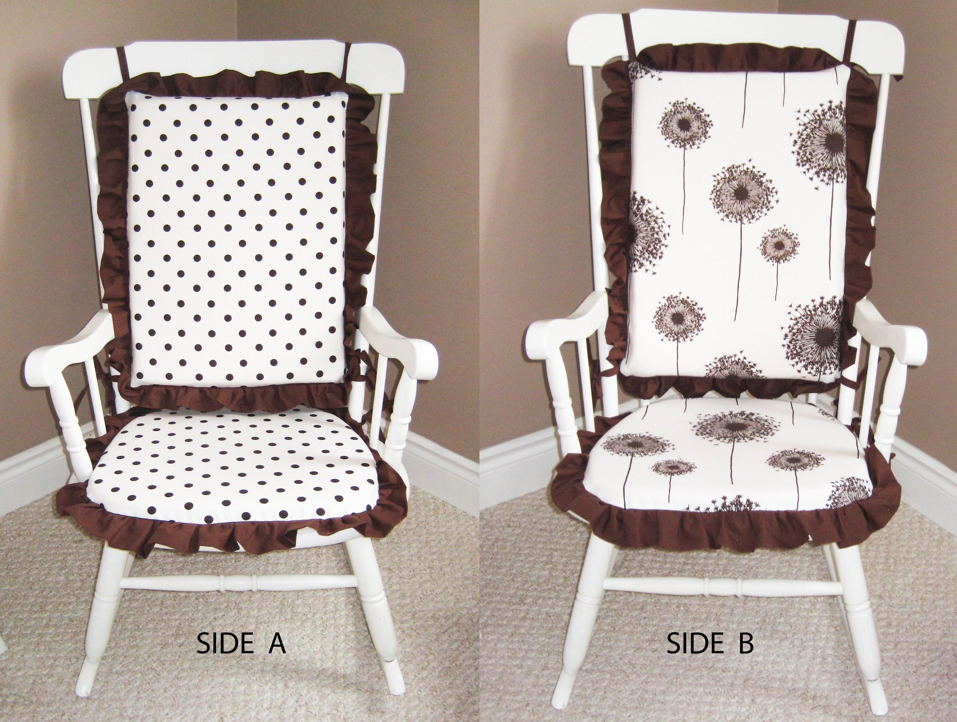 Rocking Chair Cushions (Reversible) Rocking chair