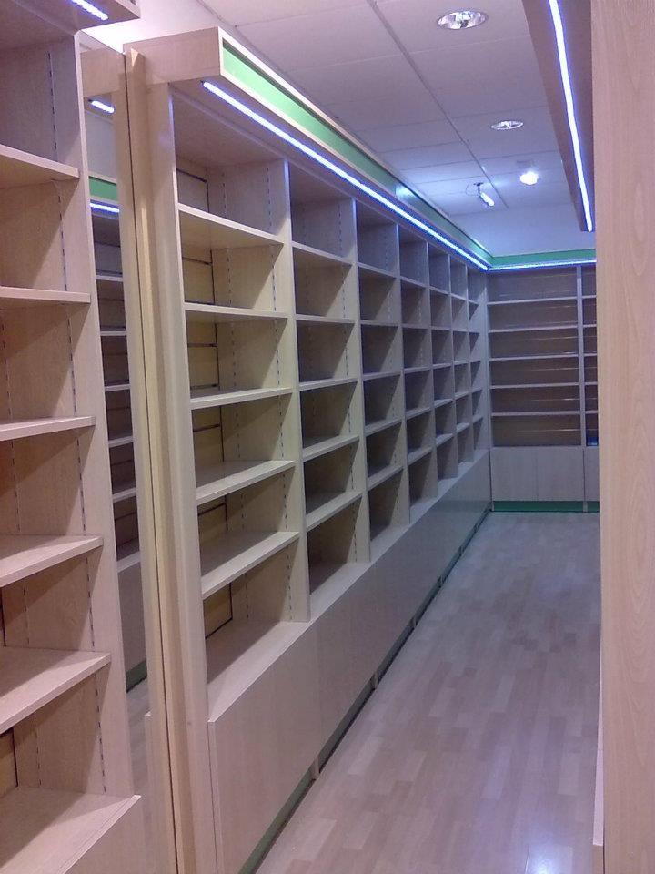 Dise o fabricaci n e instalaci n de librer as - Estanterias para librerias ...