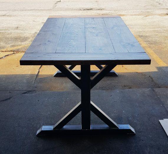 Trestle table legs, model #tr10 heavy duty, sturdy metal legs ...