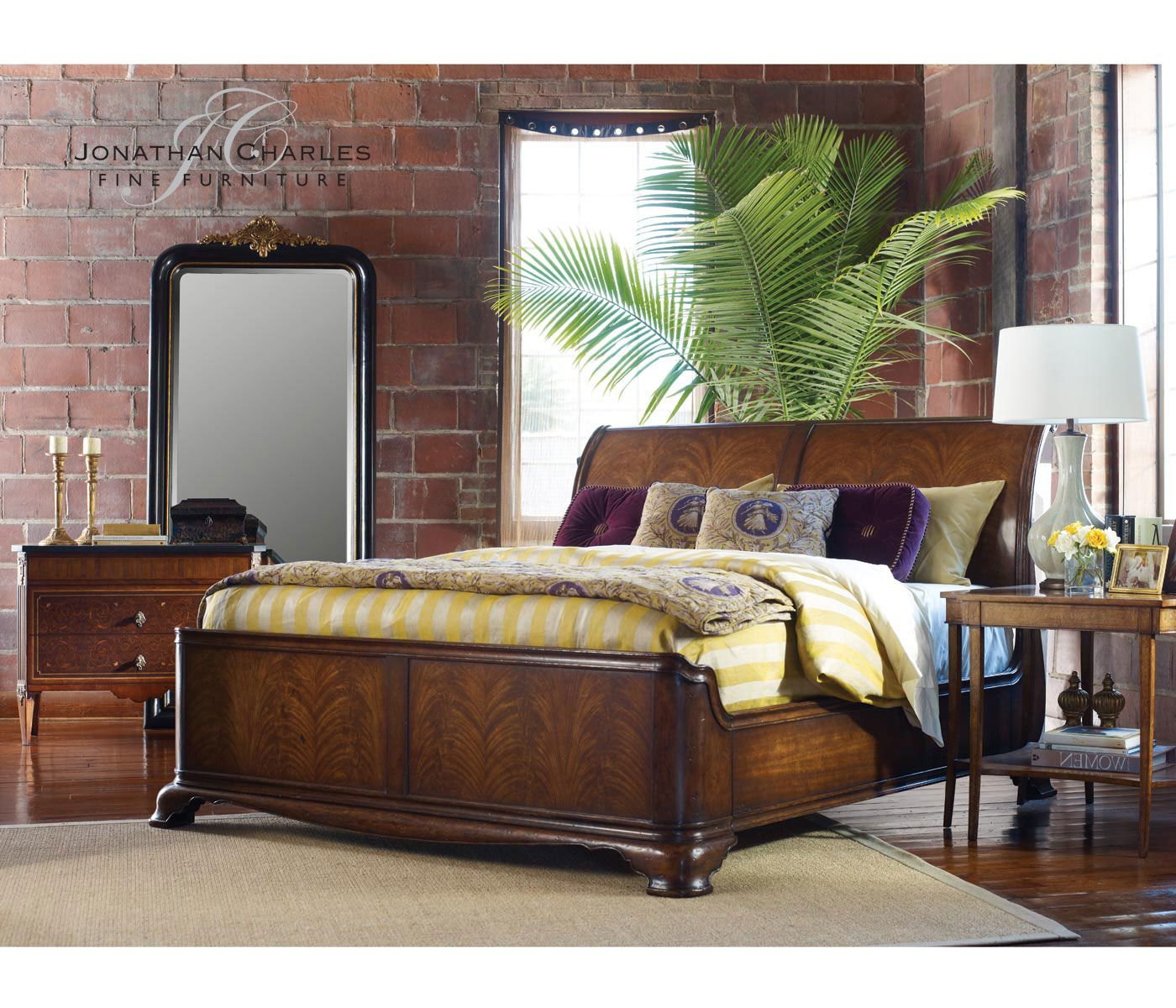 beautiful bed by jonathan charles fine furniture