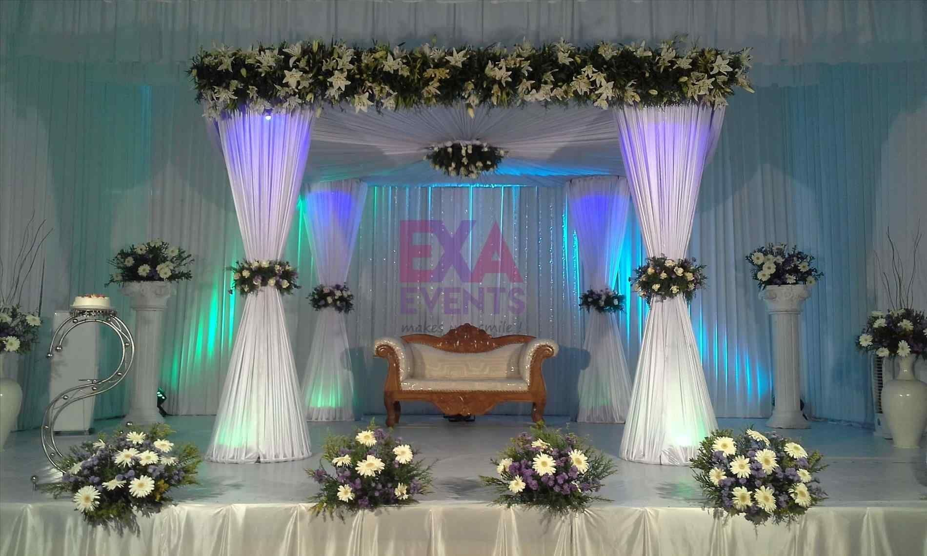 Simple Christian Wedding Decoration Pictures Wedding Stage Stage Decorations Wedding Decorations Pictures